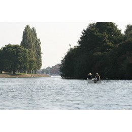 Boating on the River Itchen, Print and Canvas