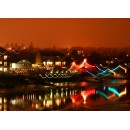 St Denys Nightscape, Print and Canvas