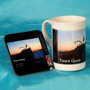 China Mug and Coaster